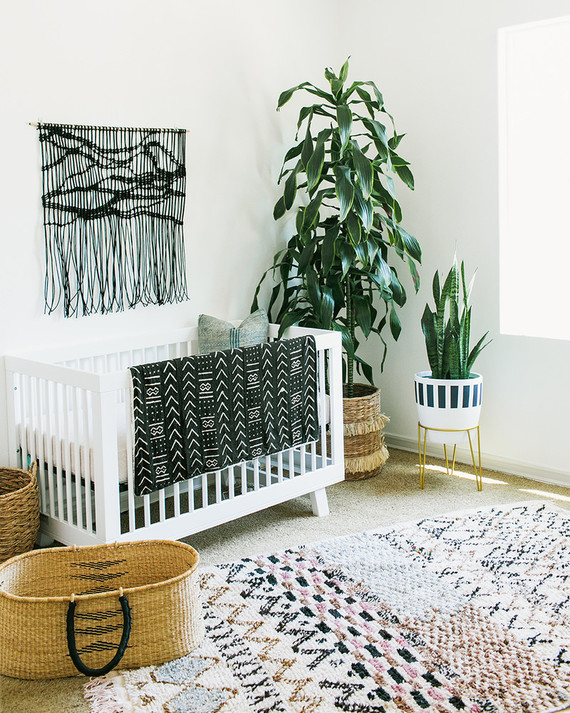 Modern DIY boy's nursery