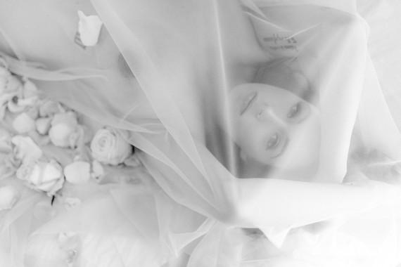 Mod boudoir maternity photos