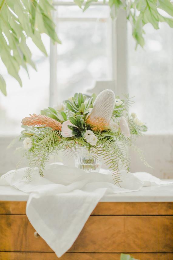 greenhouse inspired wedding ideas