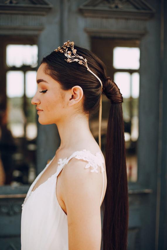 Grecian bridal style