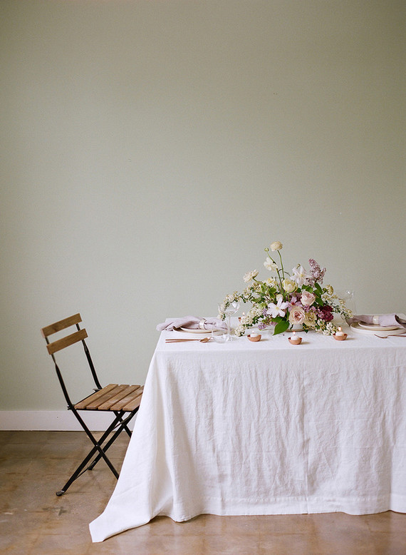 lilac garden-inspired bridal shower
