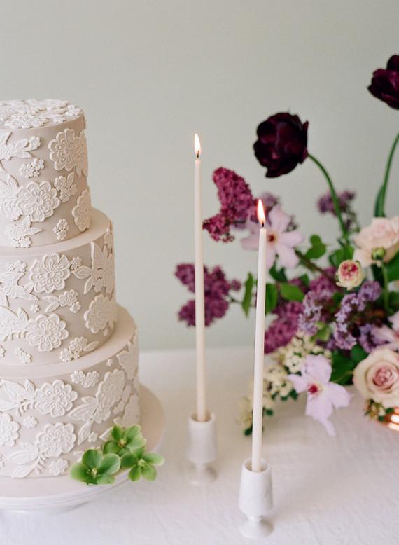 lilac garden-inspired bridal shower