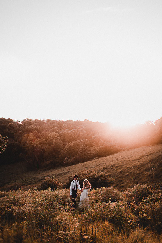 romantic moody anniversary shoot