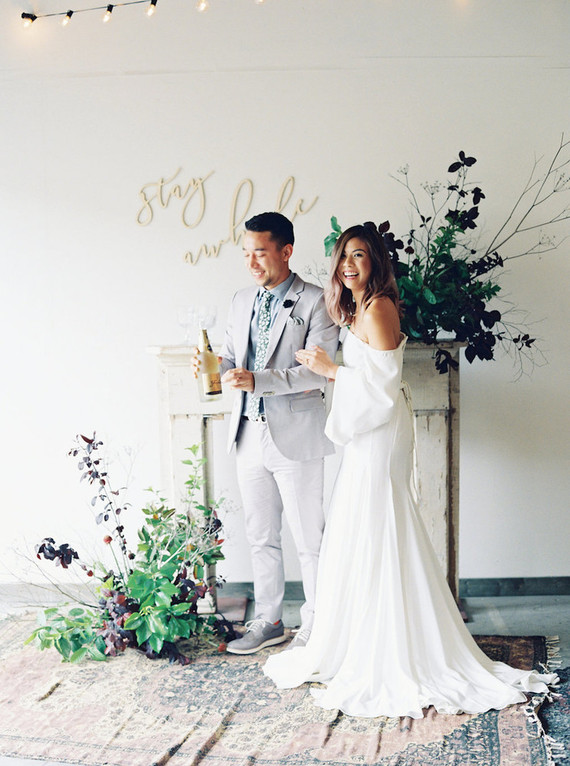 minimal fall wedding ideas