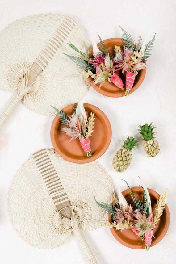 Tropical boutonnières