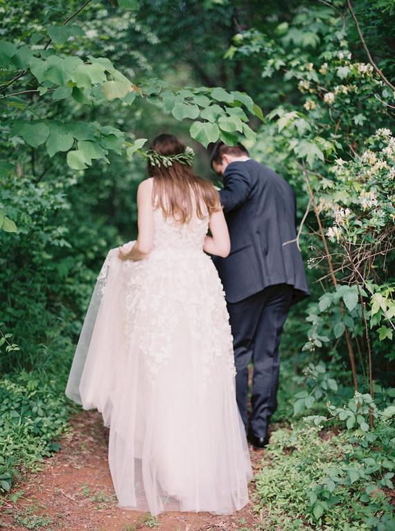 Rustic, organic farmhouse wedding in North Carolina