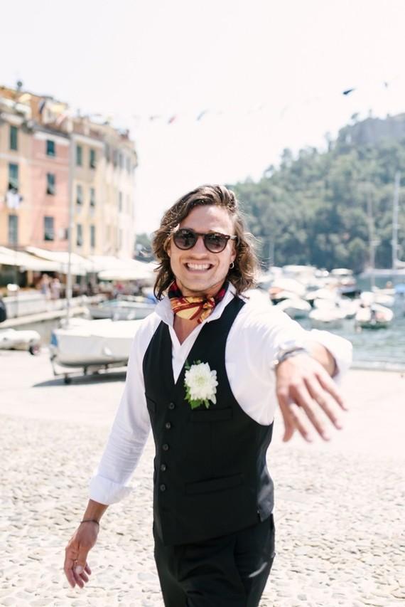 Italian groom style
