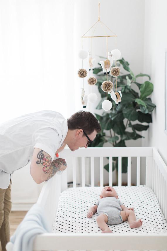 Boy's modern nursery