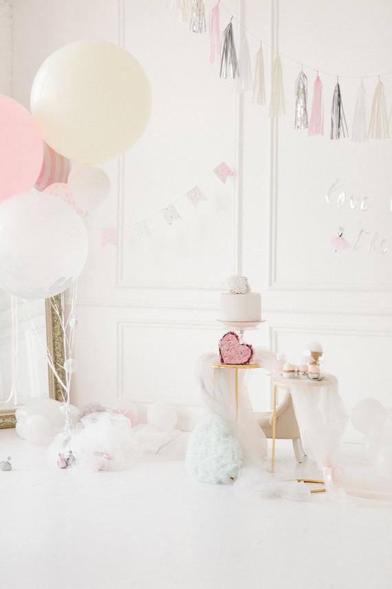 Ethereal feminine girl's birthday party ideas