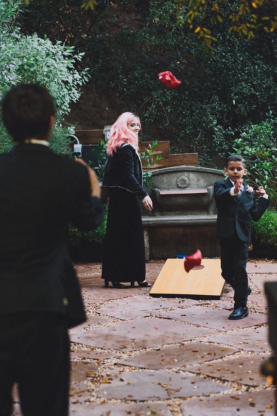rainy fall topanga canyon wedding real weddings 100