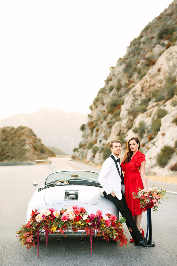 Angeles national forest engagement shoot