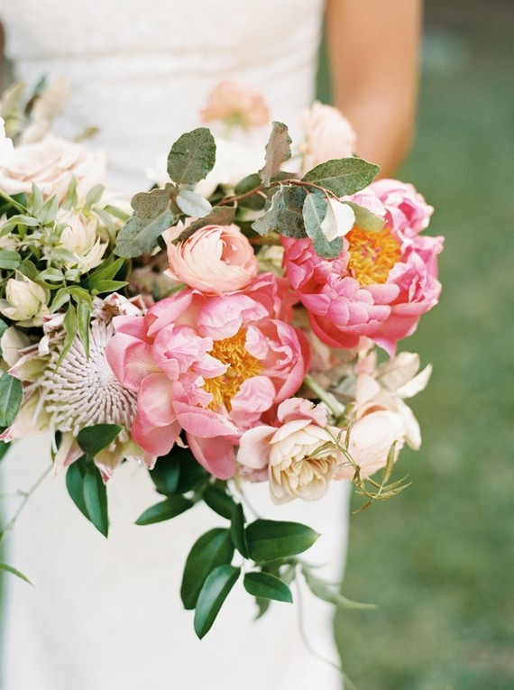 Pink and white garden wedding in Dallas