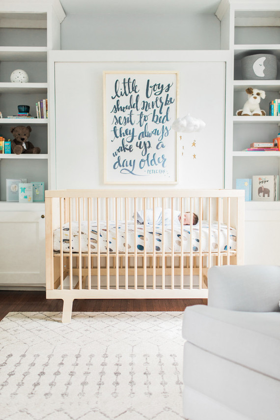 DIY boy's nursery