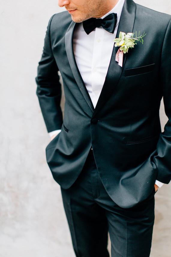 classic groom's tux
