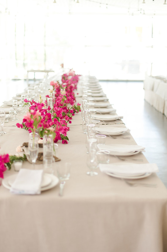 Bougainvillea-inspired wedding ideas