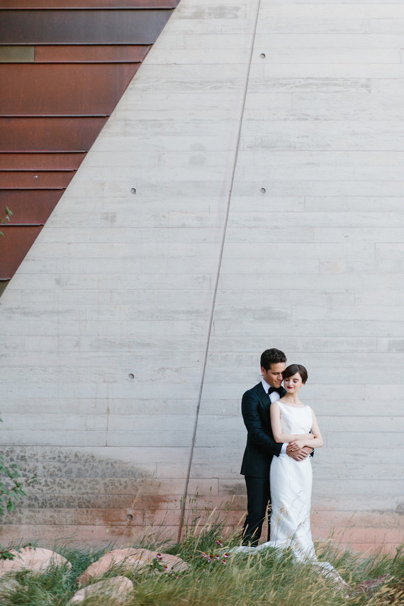 minimal museum wedding ideas