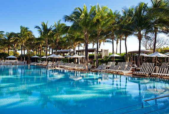 W South Beach wedding and bachelorette trip destination