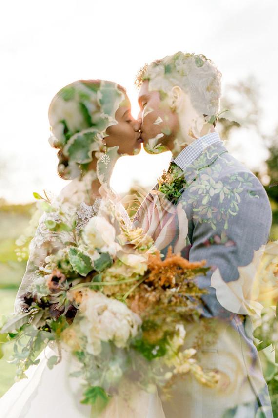Glam fall wedding inspiration