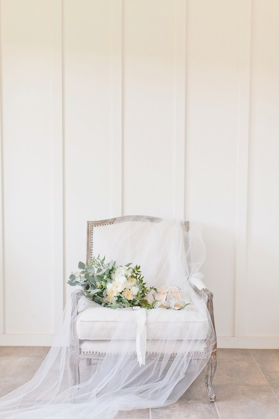 All white farmhouse wedding in San Luis Obispo