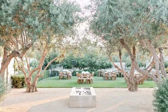White Modern Olive Ranch Wedding In San Luis Obispo At Biddle Ranch 100 Layer Cake