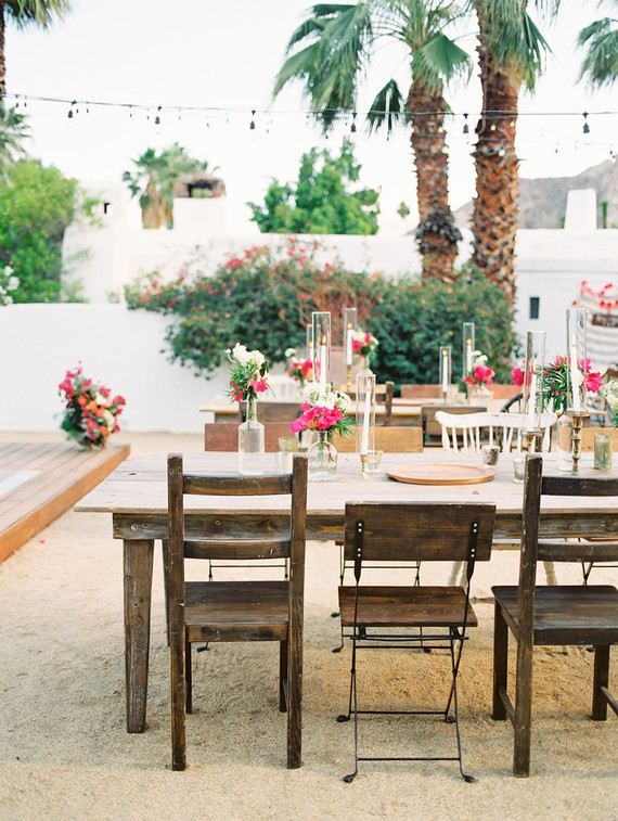 Wedding at Korakia Pensione in Palm Springs