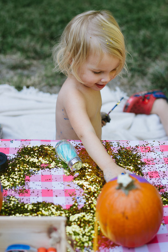 Pumpkin patch second birthday