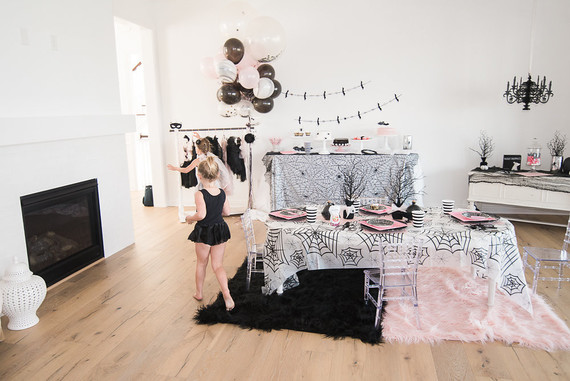 Vampira Ballerina party ideas