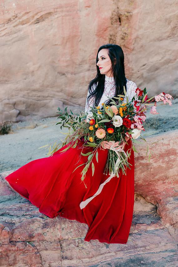 Dia de los Muertos inspired anniversary shoot