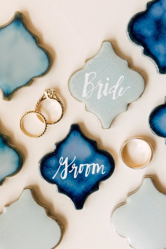 Tile place cards