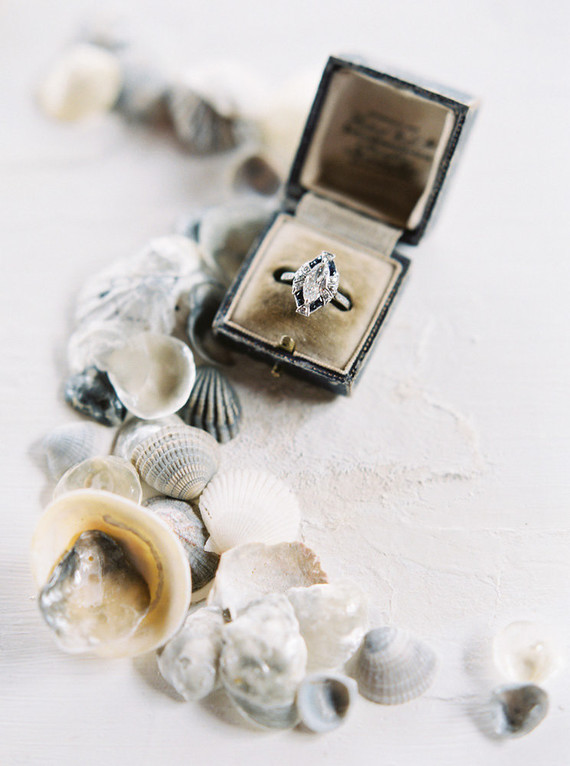 seaside inspired engagement ring