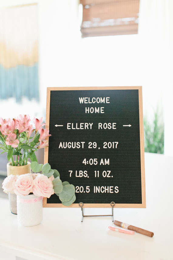 Floral boho girl's nursery