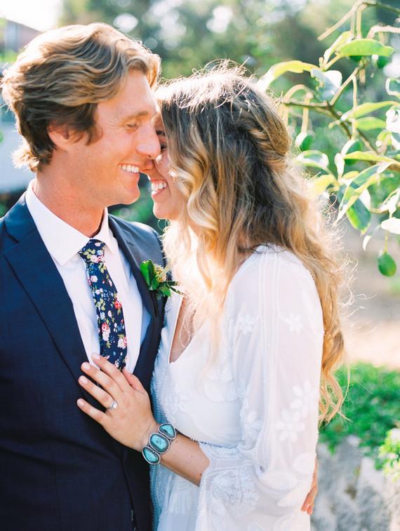 modern macrame backyard wedding in Oceanside