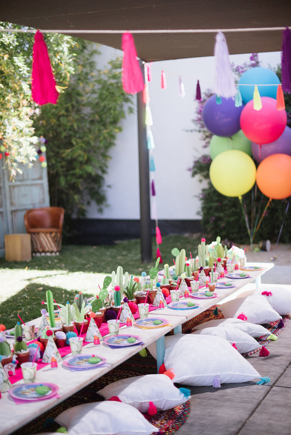 Llama inspired Frida Kahlo birthday | Mexican birthday ...