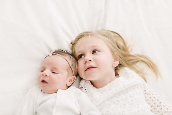 Rustic winter newborn photos on 100 Layer Cakelet