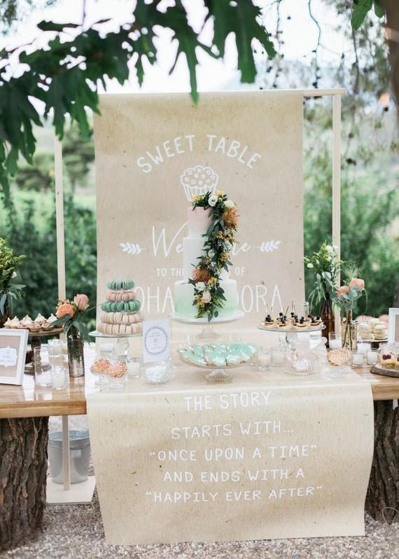 DIY backyard summer wedding in Athens, Greece