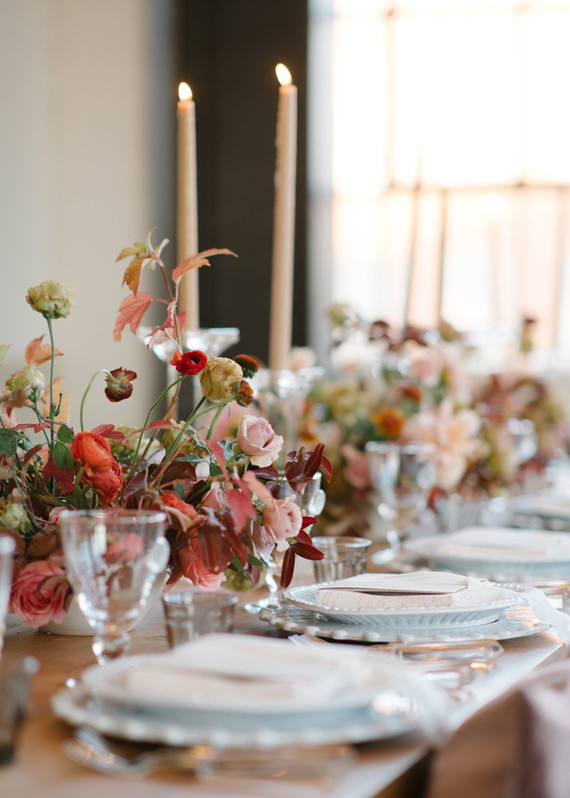 Fall Dinner Party Ideas Part - 35: Fall Dinner Party Ideas From The Wedding Artists Collective