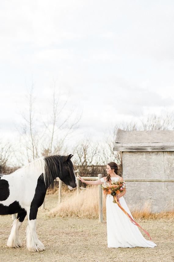 Organic fall wedding inspiration