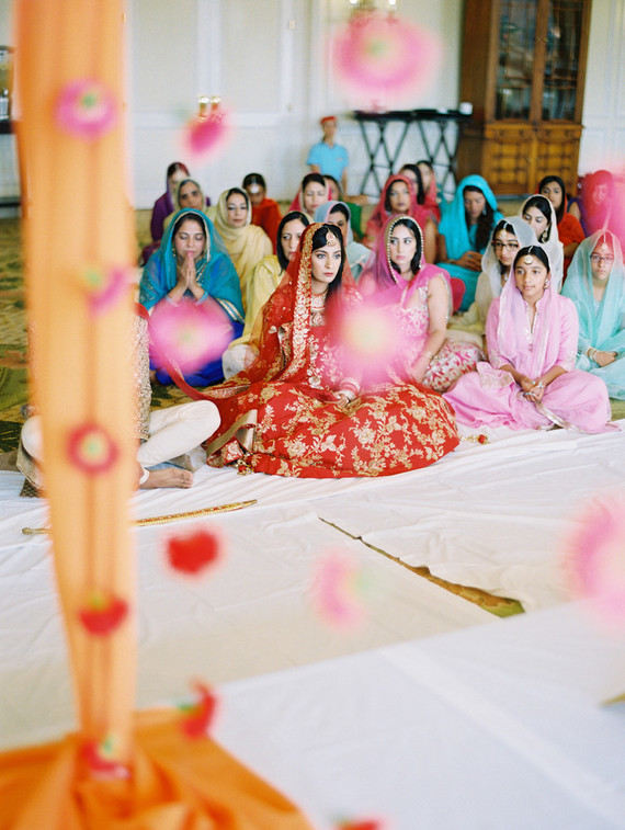 Modern Hindu and Sikh wedding on Maui