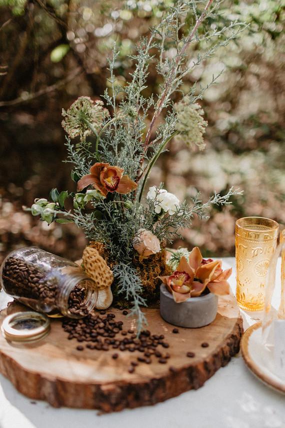 Vintage fall brunch wedding inspiration