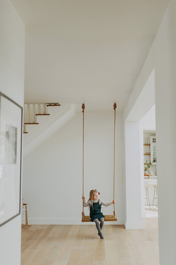 A swing indoors!