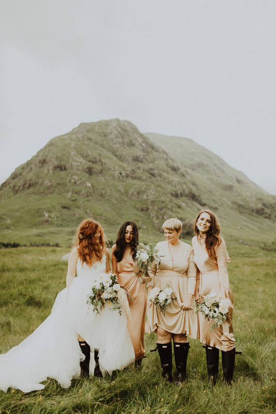 Adventurous, charming destination wedding on the Isle of Mull in Scotland