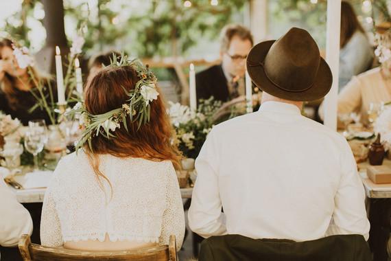 Charming indie Scottish Isle wedding