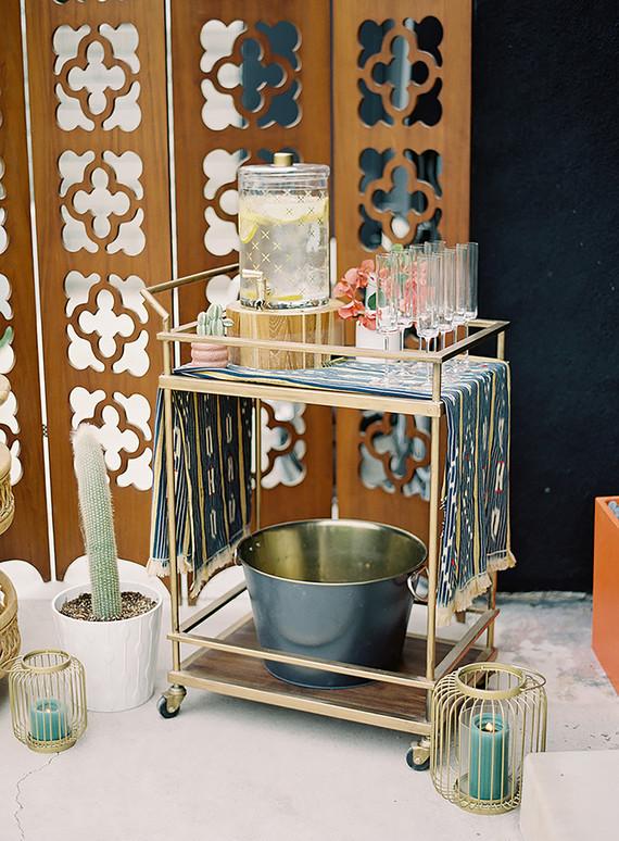 Boho llama baby shower