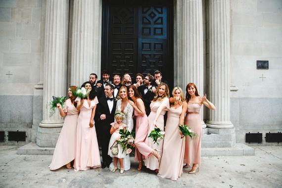 Modern jewel tone wedding at Vibiana in DTLA