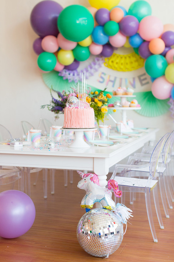 Rainbow Pastel Unicorn Birthday Pastel Unicorn Party Ideas 100