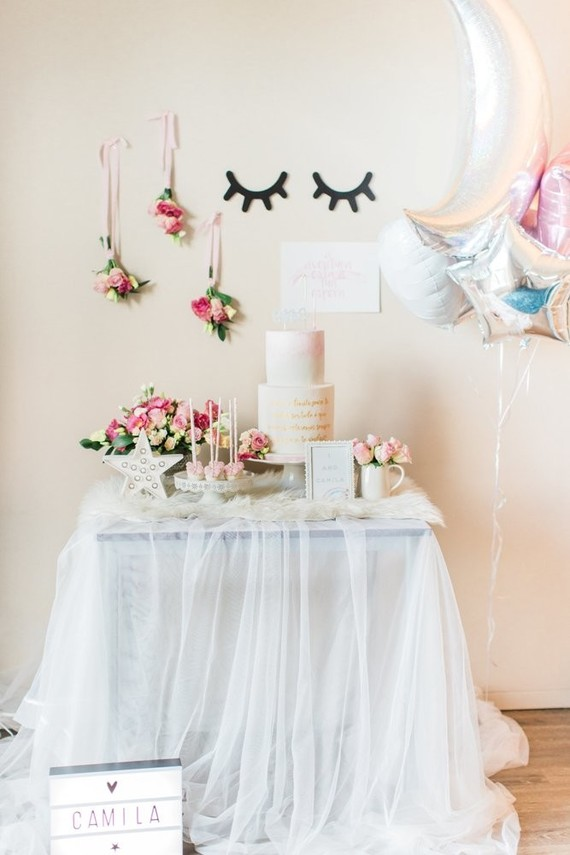 Whimsical Simple Girls 1st Birthday Ideas First Birthday Ideas