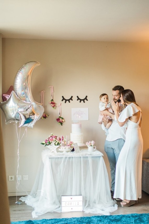 Whimsical Simple Girls 1st Birthday Ideas First Birthday