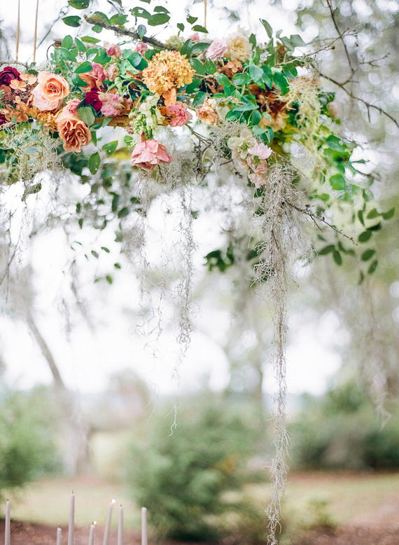 Bold, elegant Charleston wedding inspiration