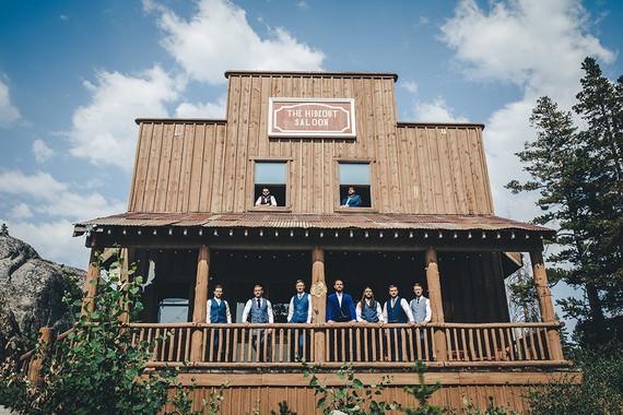Sierra camp wedding at the Hideout in Kirkwood CA
