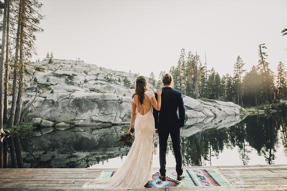 Sierra camp wedding at the Hideout in Kirkwood CASierra camp wedding at the Hideout in Kirkwood CA